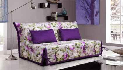 Большая кровать жасмин