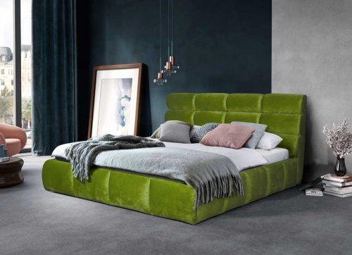 Кровать Елена green