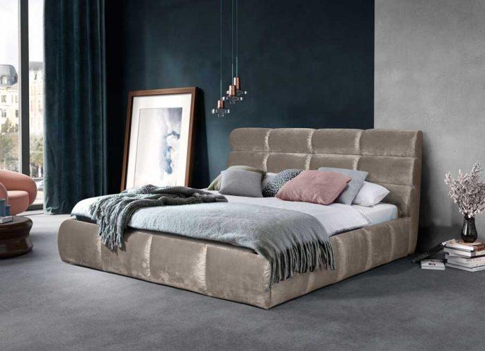 Кровать Елена Gray