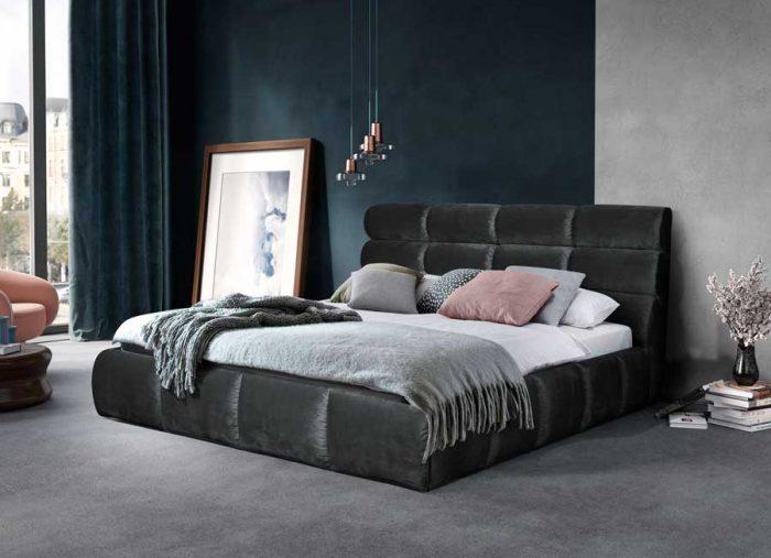 Кровать Елена Black